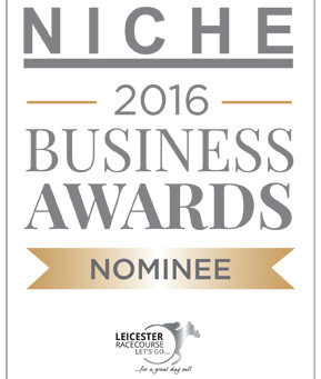 Proud to be nominated for a Niche Business Award