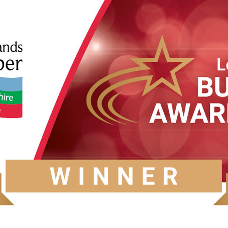 Leicestershire Business Award Winners!