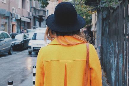 Girl in a Yellow Coat