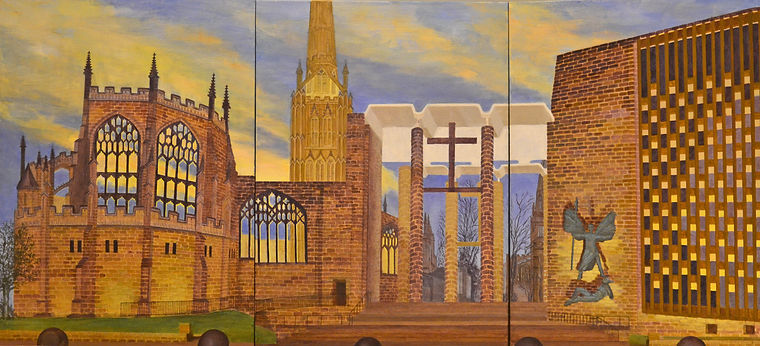 Cathy Renken- Coventry Cathedral at Dusk