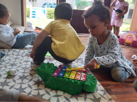 How can you help your child settle into child care?