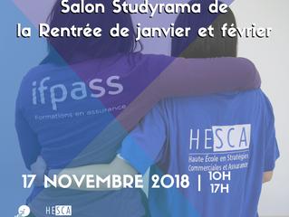 Salon Studyrama de la Rentrée de janvier et février - Paris