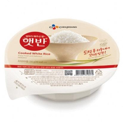 CJ Hatban Cooked White Rice Box 7.4oz(210g) 12ea