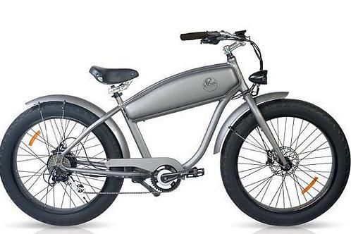 Vélo électrique Cruiser Silver Harley matte