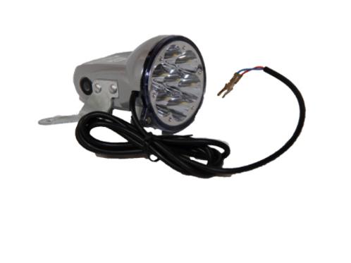 Lumière LED avant pour trottinette électrique
