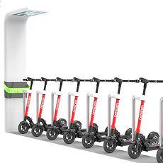 Station d'éco-mobilité