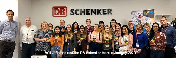 DB Schenker and team with Will Jefferson
