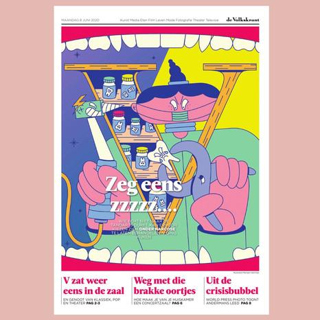 Volkskrant - Cover