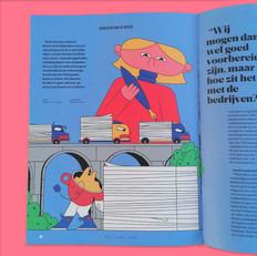 NT Magazine - Editorial illustration