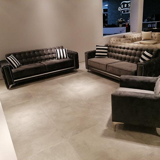Porto 3+3+1 Couchgarnitur Ausstellungsstück