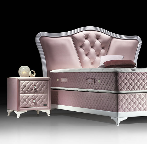 Pinky  Bett mit Bettkasten