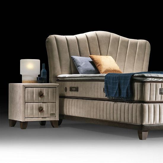 Thermic Prime  Bett mit Bettkasten ohne Kopfteil und Matratze