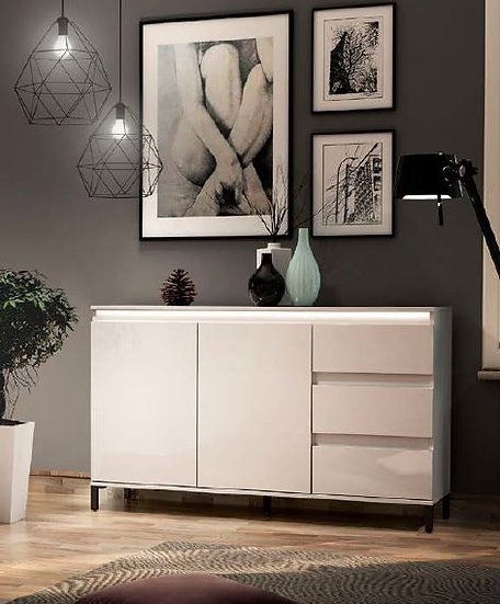 Genio Sideboard 2 Türen + 3 Schubladen
