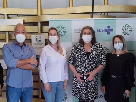 Secretário de Saúde participa de encontro estadual na capital