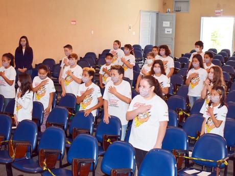 Alunos da Escola Bela Vista se formaram no Proerd