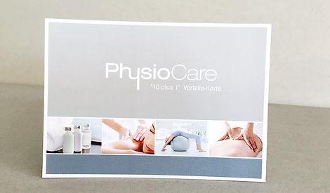 Zehnerkarte Massage PhysioCare