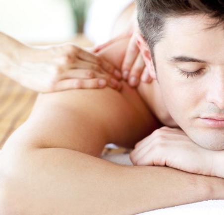 Schulter-Nacken-Massage
