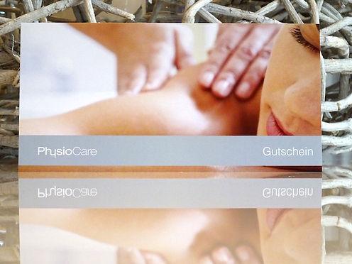 Massagegutschein von PhysioCare in Oldenburg