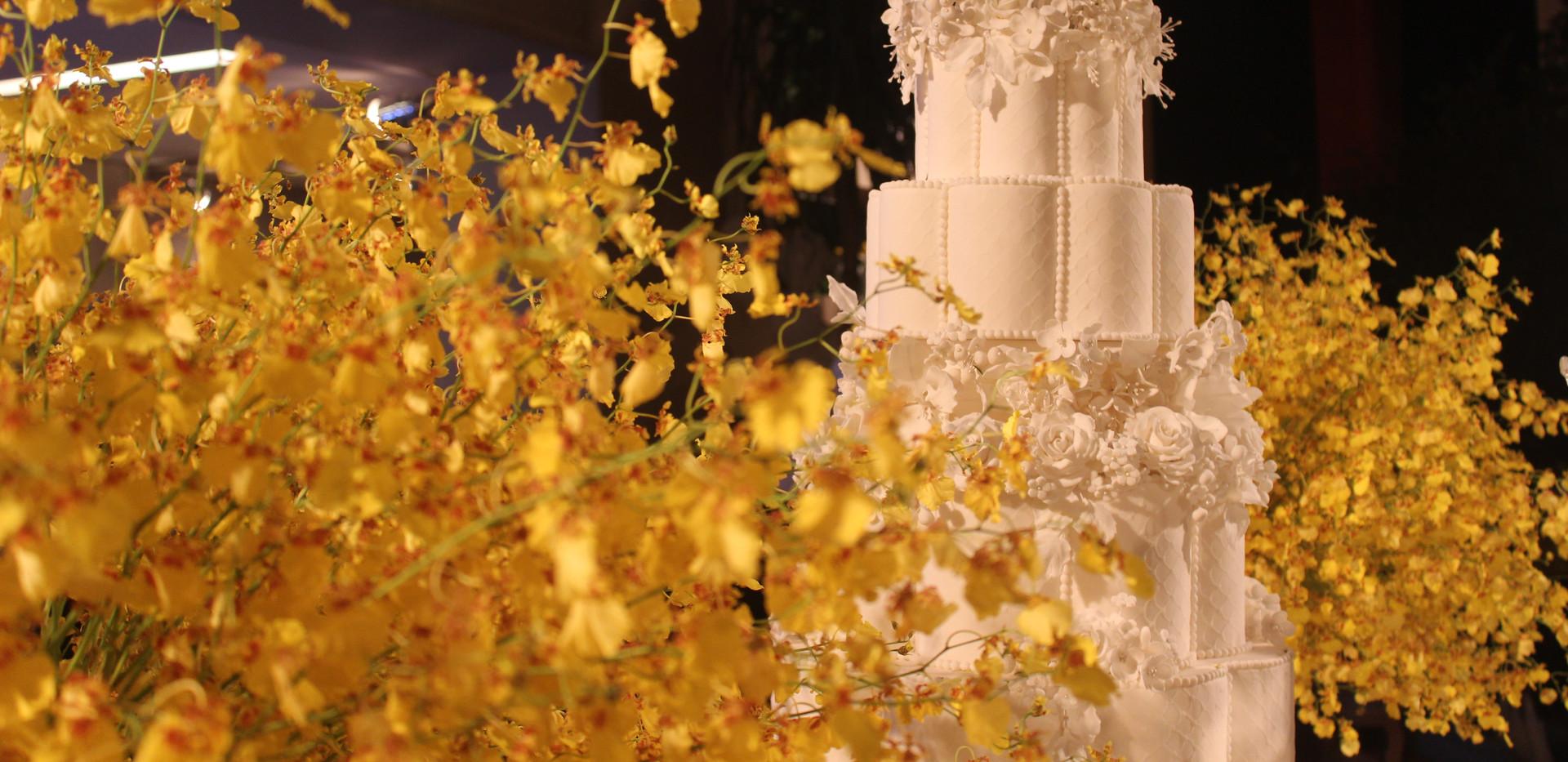 Maquete em formato de flor - 6 andares