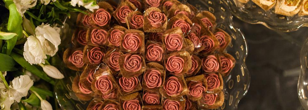 Rosa de chocolate Ruby