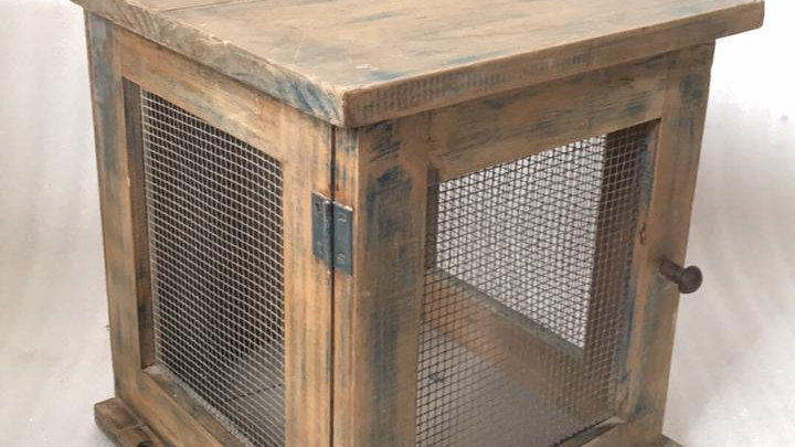 Caja de madera vintage