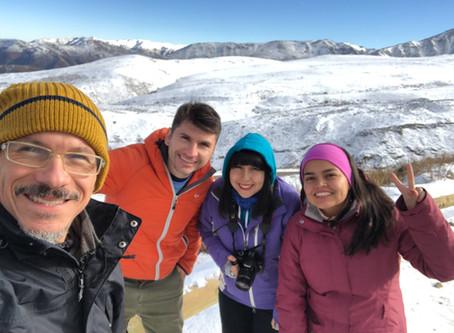 Nos fuimos a la Montaña - Trekking La Parva