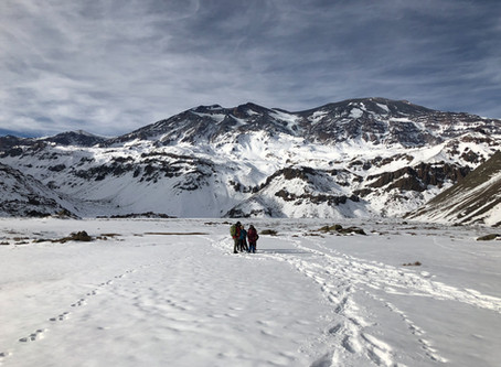 Y nos fuimos al Valle la Engorda, en el Cajón del Maipo!