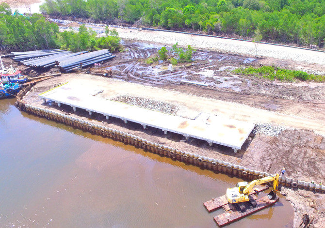 East Kalimantan Coal Fired Steam Power Plant (CFSPP) jetty construction ​