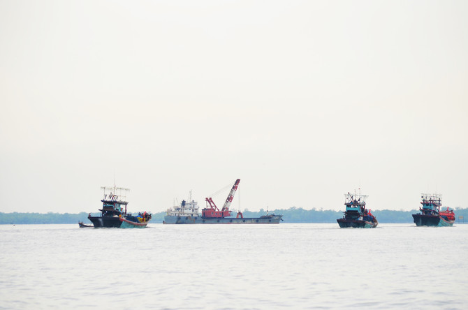 Pengerukan Alur Nelayan