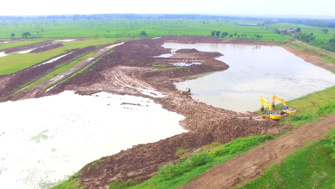 D.I. Gondang Irrigation Network Rehabilitation