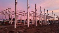 Factory construction in Serang, Banten
