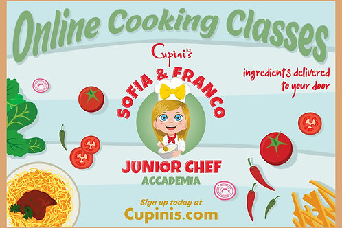 Junior Chef Cooking Class Voucher