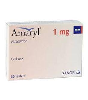 AMARYL 1MG TAB 30