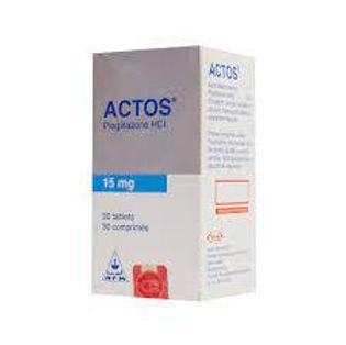ACTOS 15MG 30 TABLETS