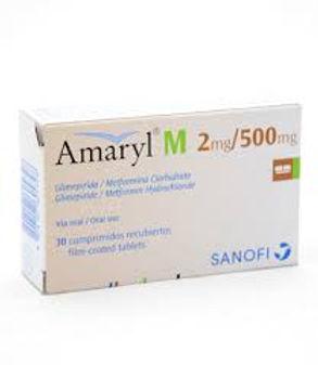AMARYL M SR 2MG/500MG TAB 30
