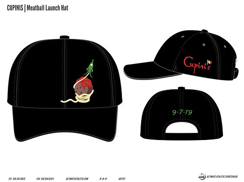 Meatball Launch Hat