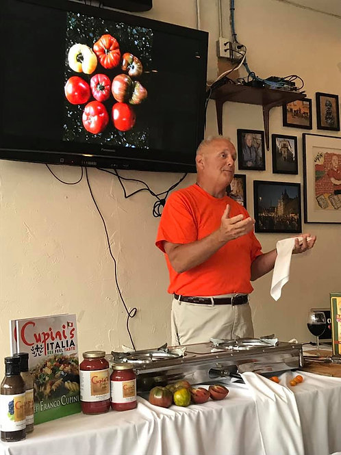 Tomato Cooking Class July 23rd, 2020 Cooking Class