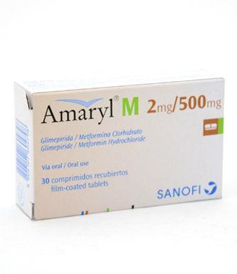 AMARYL M 2MG/500MG TAB 30