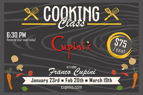Cooking Class Voucher