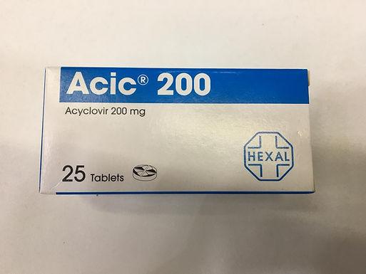 ACIC 200MG 25 TABLETS