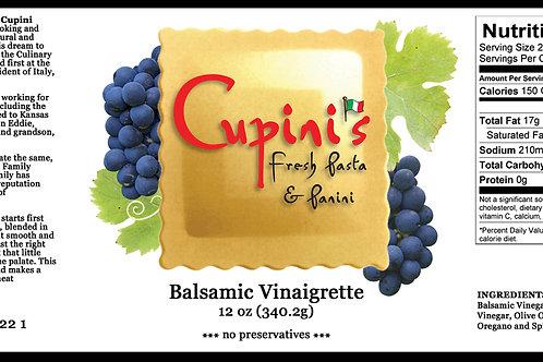 Case of 6 bottles of Balsamic Vinaigrette