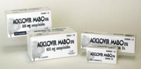 ACYCLOVIR MABO 800MG 35 TABLETS