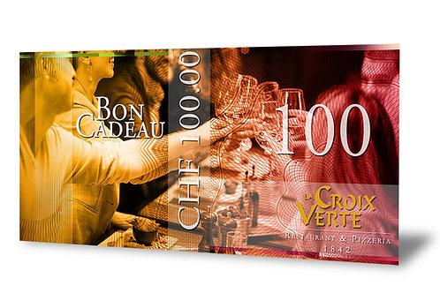 Bon Cadeau de 100 francs