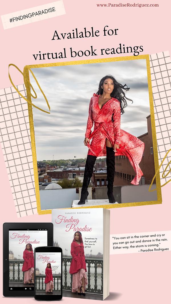 Copy of Pink Woman Photo Glitter & Gold