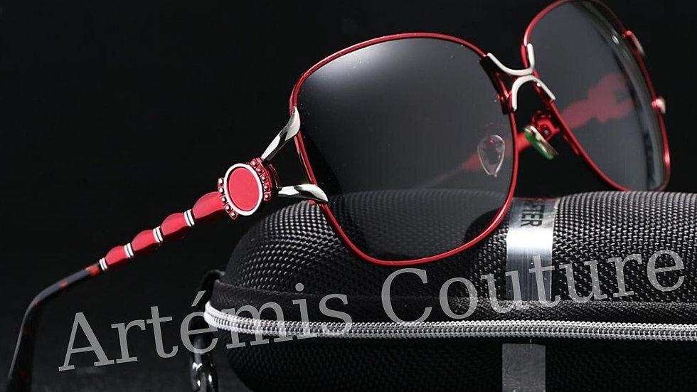 Wide Framed Sunglasses