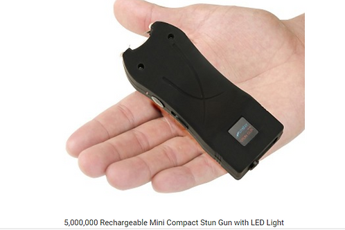 Rechargeable Mini Compact Stun Gun with LED Light