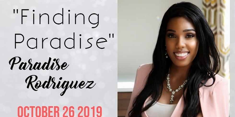 """Meet & Greet with Paradise Rodriguez, of """"Finding Paradise"""" at Tall Tales Books Atlanta"""