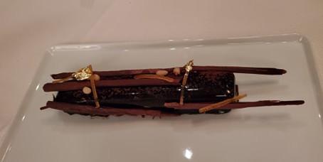 J'ai mangé de l'or ... littéralement !               I ate gold…literally ! --Cuisine Daniel Boulud