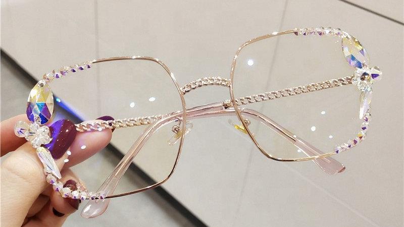 Mermaid Crystal Sunglasses