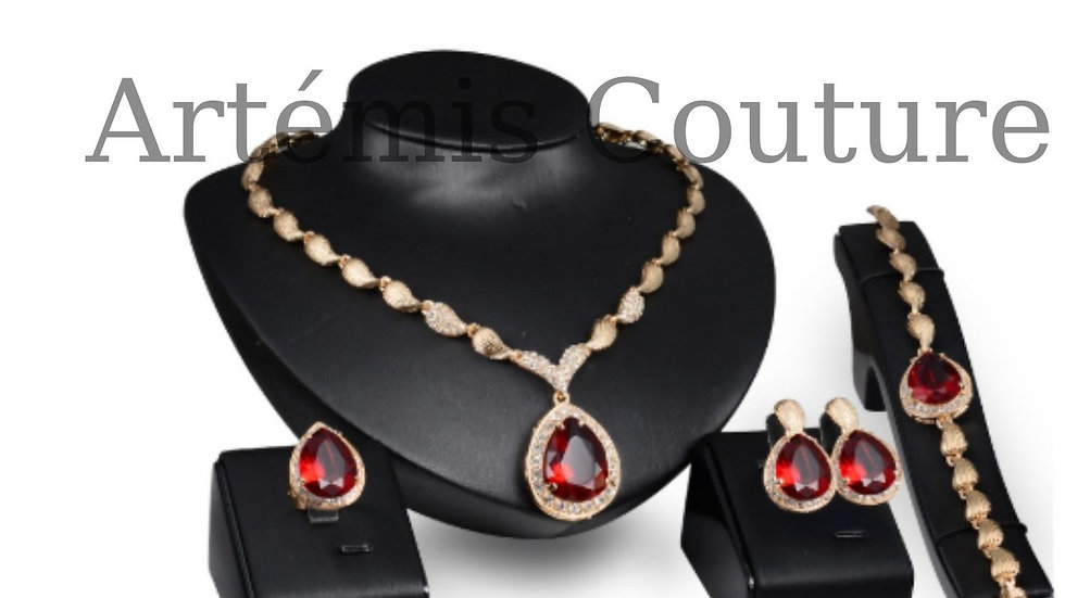 Passion of the Heart necklace set